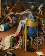 Jheronimus Bosch: Garden of Earthly Delights - Hell (detail)