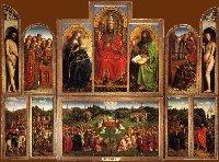 Jan van Eyck: The Ghent altarpiece (opened)