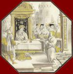 Lucas van Leyden: Joseph before Pharaoh