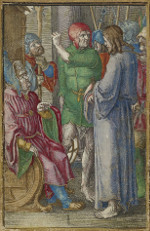 Lucas van Leyden: Christ before Annas