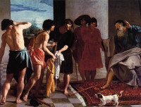 Joseph's Bloody Coat Brought to Jacob