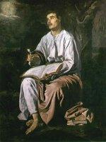 Diego Rodríguez da Silva y Velázquez: St John at Patmos