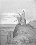 Gustave Doré: The Temptation by the Devil