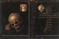 Rogier van der Weyden: Braque triptych, closed