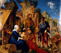 Adoration of the Magi, D�rer