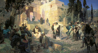 Vasily Polenov: Jesus and the Sinner Woman